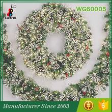 China Supplier Famouse Brand Decorative Beautiful white babysbreath wreaths wholesale