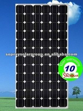 160-210 w sun earth sunpower solar panel with low price