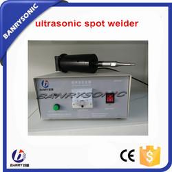 portable CE certified PP bag ultrasonic welding gun