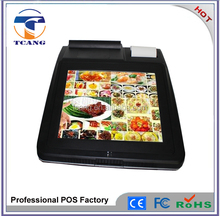 2015 12 inch pos system for bill payment with low cost