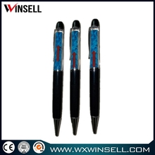 promotion gift pen 3d pvc floating plastic ball pen