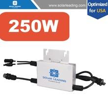 innovative solar produc250W/300W/500W/600W micro inverters 110V/220V, popular for us market