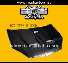 CARBON FIBER BONNET HOOD FOR HONDA DC5 TYPE R STYLE