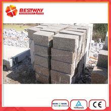 Shandong Yellow Color G341 Granite Cube Stone