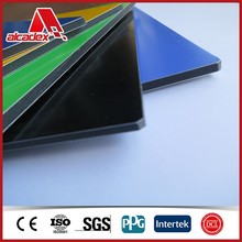 contruction material wall cladding acp / aluminum sandwich panel