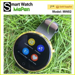 MaPan touch screen smart watch 1.22 inch/ android smart watch phone with ce rohs