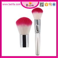 Belifa synthetic hair makeup cosmetic single loose big powder blush brush