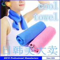 2015 high quality eco-frinedly super soft magic ice cold pva sports towel
