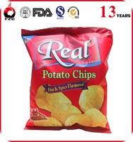 good quality snack packaging pouch aluminum foil potato chips bag