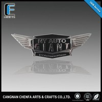Manufacture design plastic auto emblem wings car brands logo names