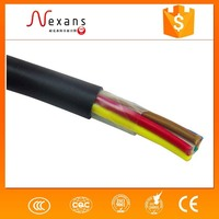 Low resistance bare flexible copper stranded wire / braided copper wire