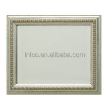 INTCO Silver plastic light mirror frame for wall decoration