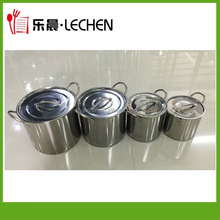 8PCS/6PCS/4PCS Stainless Steel Stock Pot Cookware Set Cookng Pot Deeper Pot Shallow Soup Pot