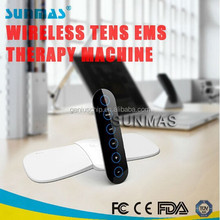 Portable new style wireless tens electronic muscle stimulator SM9180