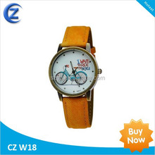 Army Style Mens Wrist Watch Waterproof Quartz Men's Military Genuine PU wrist Watch