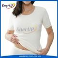 Branco de lã angora t-shirt por atacado underwear