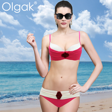 2015 Olgak Adult Woman Sexy Bikini Swimsuit Fashion Beautiful Style