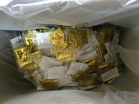 Bulk order:Gold foil detox foot patch(OEM)