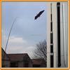 3-10M Fiberglass Telescopic Flag Pole for Scaring bird kite, Banners, Beach flags, Windsocks