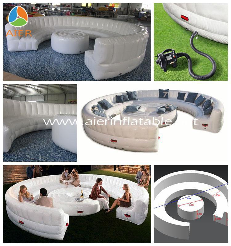 Inflatable Chesterfield Sofa Hire: Hot Technic Pvc Outdoor Inflatable Chesterfield Sofa,Air