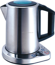 high technology intelligent stainless steel kettle.high quality wifi kettle;1.8l smart digital kettle controlled by iphone
