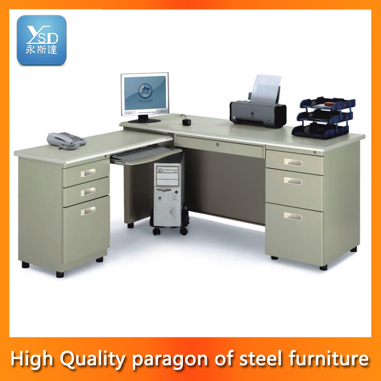 Muebles de oficina frontal doble escritorio escritorio de for Muebles de escritorio precios