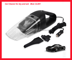 mini 12V car vacuum cleaner for dry and wet