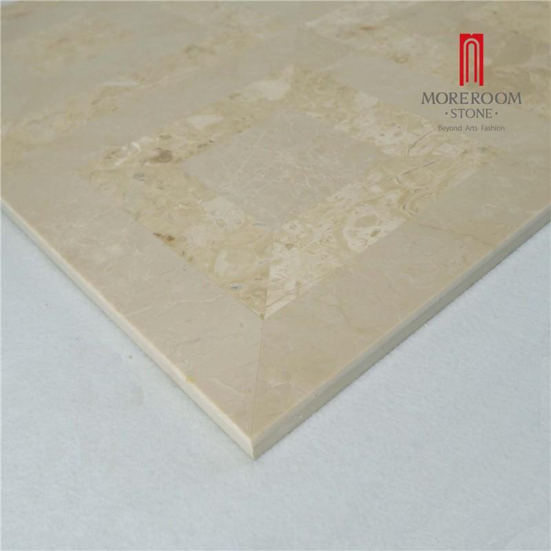 Moreroom Stone Yunfu Factory Iran Beige Marble Stone Tiles Marble Wall Design Marble Floor Design Pictures Floor Medallion Water Jet Marble Tiles 05.jpg