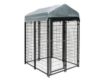 Outdoor Wire Mesh Chain Link Dog Fence dog kennels large dog kennel