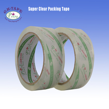 38mm width 66m length bopp super clear adhesive tape for packing