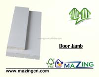 Door jamb wood white gesso line mold