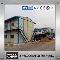 prefab house K type for low cost/emergency/fast worker building