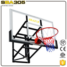 telescopic hot sale safety height basketball system