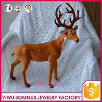 50cm fabric the Lost Christmas EIK / artificial felt deer shaped christmas decors