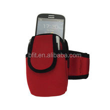 armband Neoprene sports mobile phone pouch pocket for samsung
