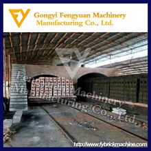 Stable performance brick production line fired clay brick tunnel kiln