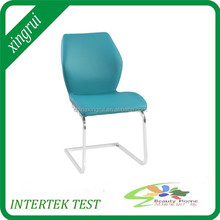 modern house design U shape chromed legs dining chair