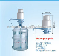Plastic mini hand operated water pumps for drinking water