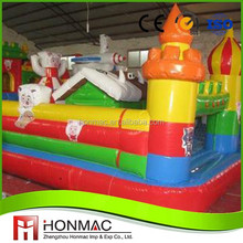 Best selling fire truck cheap inflatable bouncers for sale