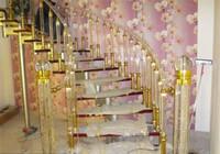 Crystal Acrylic Stair Railing Pillar Accessories Home Decoration