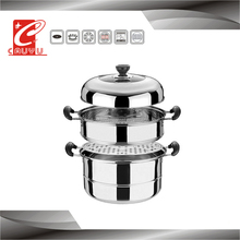 CYST326C-13 houseware importers sale 3 layer stainless steel food steamer