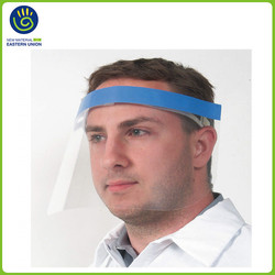 Safety eco-friendly clear plastic protection face shields