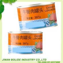 340g canned pork luncheon meat