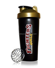 Shaker bottle, water bottle, sports nutrition shaker bottle