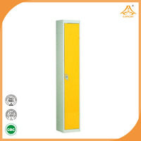 factory direct sell cheap metal one door clothes solid metal wardrobes with high quality made in china