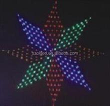 Octagon 1.4M, 288pcs LEDs, flash Led net light