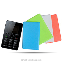 Sim Free Credit Card size GSM Mobile Phone Bluetooth Mp3 handsfree