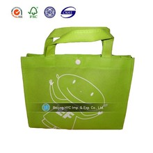 silk printing hot sale pp nonwoven bag