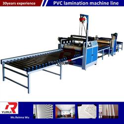 High quality PVC gypsum/plaster ceiling board making machine