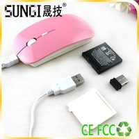 novelty electronic 2013 wireless optical mouse rechargeable